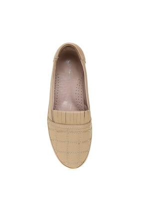Cotton Bar Bej Kadın Günlük Ayakkabı