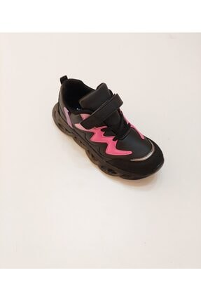Vicco Lindo Kız Çocuk Siyah Filet Phylon Spor Ayakkabı