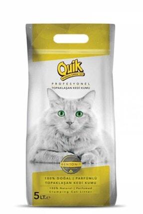 Quik 5 Lt Pudralı Kalın Kedi Kumu