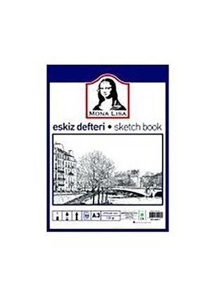 Monalisa Mona Lisa Eskiz Defteri (Sketch Book) A3 120 gr. 50 Yp.