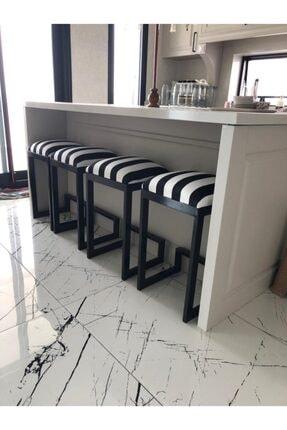 Turgut Çelik eşya Bar Taburesi/bar Sandalyesi (80 Ile 90 Cm Ada Mutfak Için Ideal Ölçü)