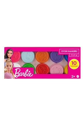 Barbie Oyun Hamuru 10'lu Paket (10x30gr)