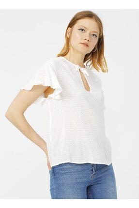 LİMON COMPANY Limon Beyaz Bluz