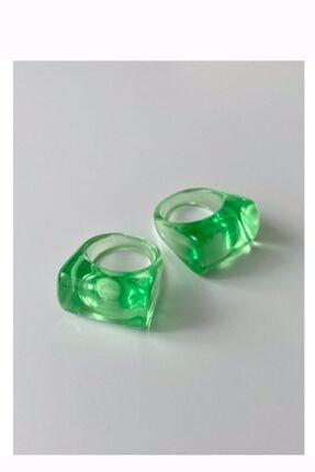 Limed Design Yummy Akrilik Yüzük (açık Yeşil)