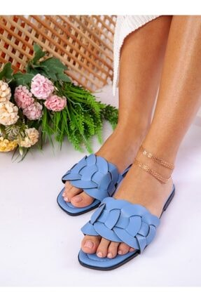 ayakkabıhavuzu Terlik Buz Mavisi  Ayakkabı Havuzu