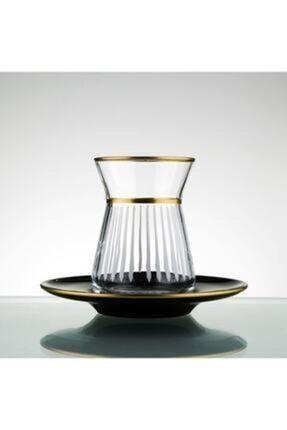 Paşabahçe Lazer Yapımı 12 Parça 6 Kişilik Çay Seti
