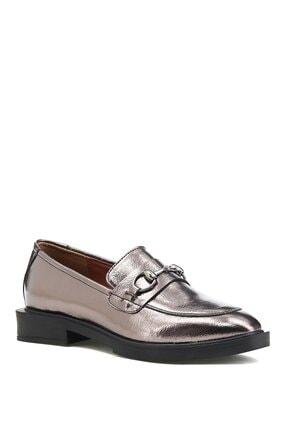 İnci Alupka.r.z 1pr Platın Sarı Kadın Loafer Ayakkabı