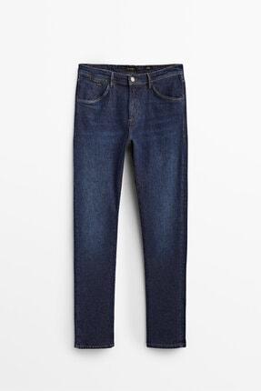 Massimo Dutti Slım Fıt Stone Wash Jean
