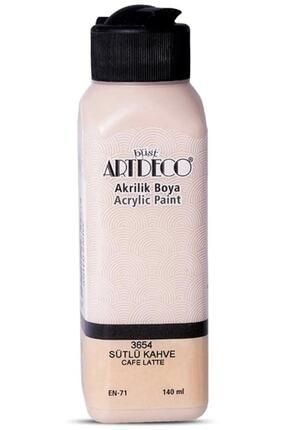 Artdeco 140ml Sütlü Kahve Akrilik Boya 3654