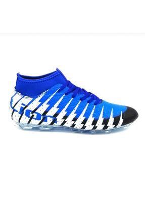 Lion Çoraplı Mavi Krampon