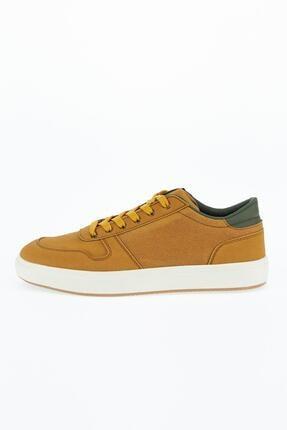 DeFacto Erkek Sarı Suni Deri Bağcıklı Günlük Ayakkabı