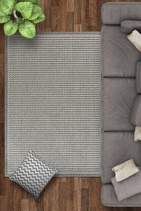 Caretta Home Espira Serisi Gri Dekoratif Modern Bukle Dokuma Halı Kilim