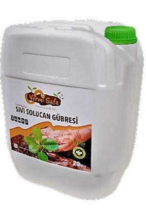 Vermisafa 20 Lt %100 Organik Konsantre Sıvı Solucan Gübresi