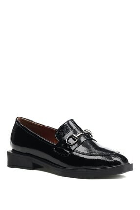 İnci Alupka.r.z 1pr Siyah Kadın Loafer Ayakkabı