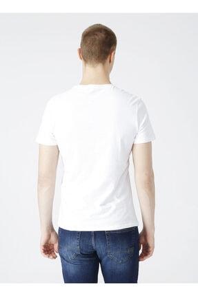 LİMON COMPANY Limon Bisiklet Yaka Baskılı Erkek T-shirt