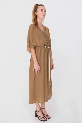 Addax Kemerli Elbise E2782 - K2