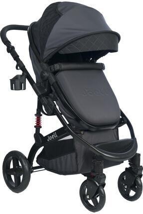 Joell New Truva Iıı Travel Sistem Bebek Arabası - Siyah Füme