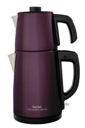 TEFAL Tea Expert Deluxe Mürdüm 1650 w Çelik Demlikli Çay Makinesi
