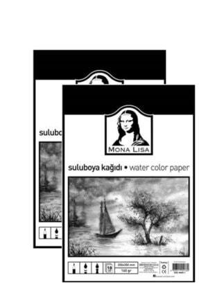 Südor 2 Paket Monalisa Sulu Boya Kağıdı 25x35 160gr 10 Yaprak