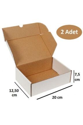 Kutu Ambalaj 2 Adet Çok Amaçlı Karton Kutu Boş Koli Kargo Ambalaj