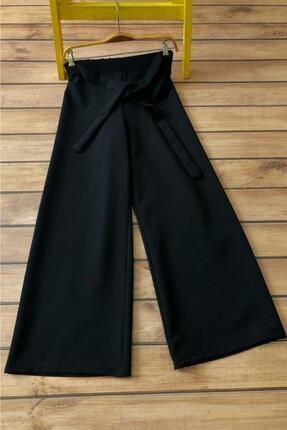 Allmıss Belden Lastikli Ve Kuşaklı Bol Pantolon