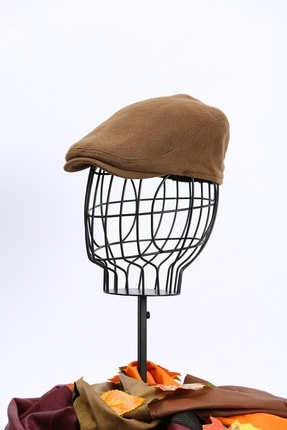ÜN ŞAPKA Kışlık Kaşe Kasket Spor Kasket Ördek Şapka