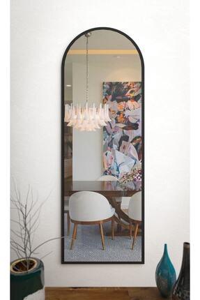 rivomo Siyah Dekoratif Boy Aynası 150x50  cm