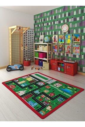 Confetti City Yeşil Bukle Çocuk Halısı 200*290cm
