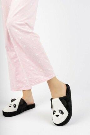 EDS Shoes Kadın Panda Günlük Ses Yapmaz Taban Ev Terliği