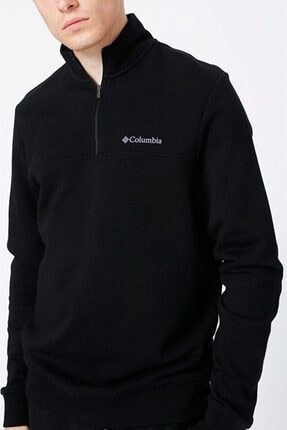 Columbia Erkek Siyah Sweatshirt