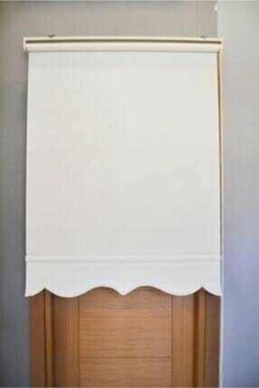 Taç Beyaz Mat Ithal Polyester Stor Güneşlik (etek Desenli )