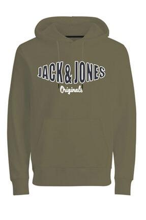 Jack & Jones Logo Baskılı Sweatshirt 12196816 Jorolıve