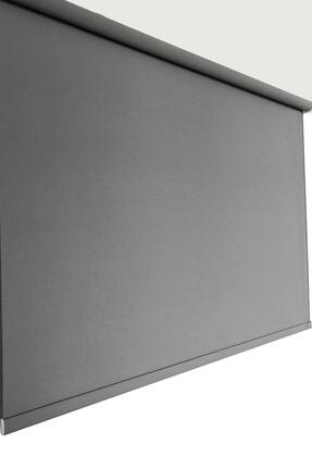 Brillant Mat Gri Stor Perde 220 x 200 cm