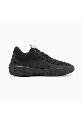 Puma Court Rider Pop Erkek Siyah Basketbol Ayakkabı - 37610701