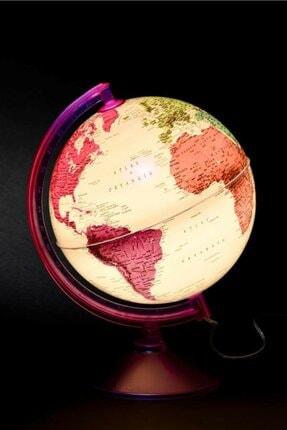 Rüya Gezegeni Işıklı Harita Dünya Küresi 26 cm 7 Renk Gürbüz 46254