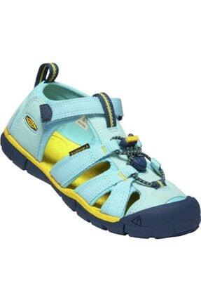 Keen Unisex Çocuk Sarı Sandalet