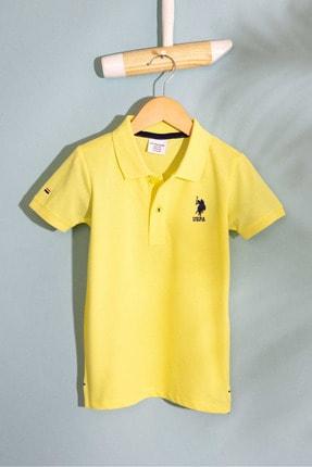 U.S. Polo Assn. Sarı Erkek Cocuk T-Shirt
