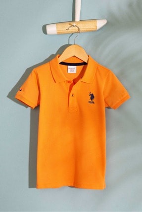 U.S. Polo Assn. Turuncu Erkek Cocuk T-Shirt
