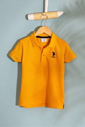 U.S. Polo Assn. Sari Erkek Çocuk T-Shirt