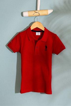 U.S. Polo Assn. Kirmizi Erkek Çocuk T-Shirt Basic