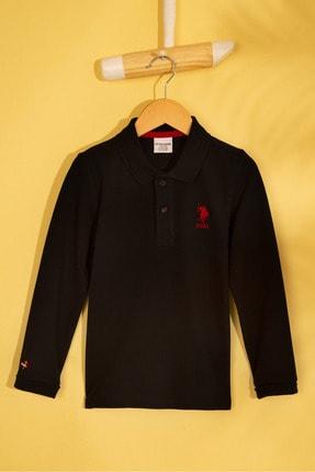 U.S. Polo Assn. Siyah Erkek Çocuk Sweatshirt
