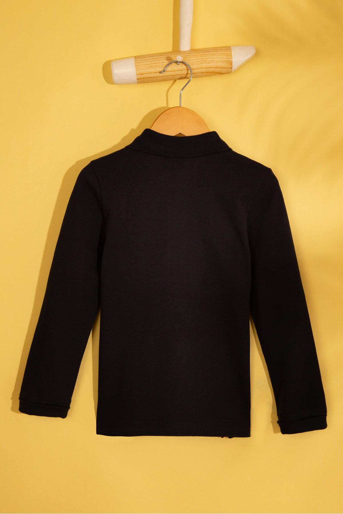 U.S. Polo Assn. Lacivert Erkek Çocuk Sweatshirt 2
