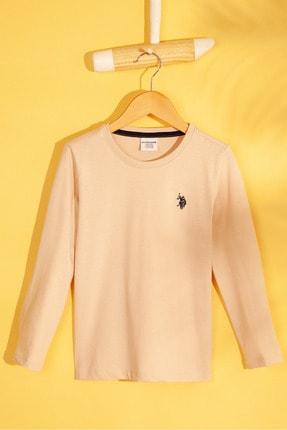 U.S. Polo Assn. Beyaz Erkek Çocuk Sweatshirt