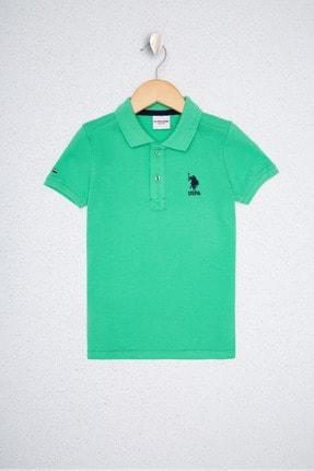 U.S. Polo Assn. Yeşil Erkek Çocuk T-Shirt