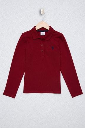 U.S. Polo Assn. Kirmizi Kız Çocuk Sweatshirt