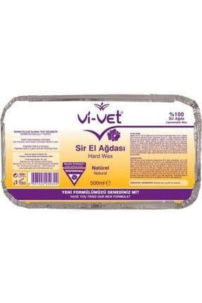 Vi-vet Sir Ağda Kalıp Naturel 500ml