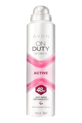 AVON On Duty Active Kadın Deodorant 150 Ml.