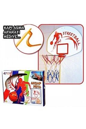 AKÇİÇEK OYUNCAK Ahşap Basket Potası