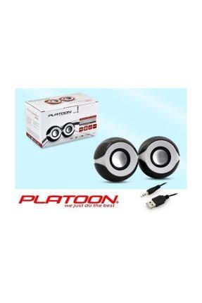 Platoon Pl-4118 1+1 Usb Speaker