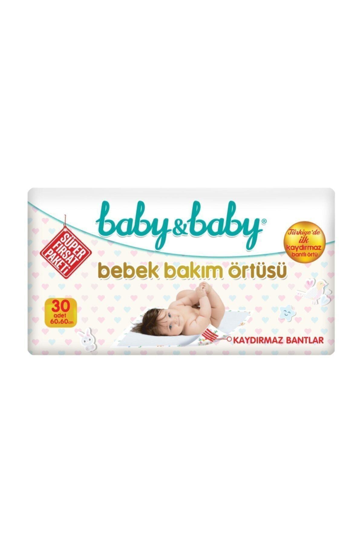 Baby&Baby Baby & Baby Bebek Bakım Örtüsü Alt Açma Bezi 30'lu Paket 1